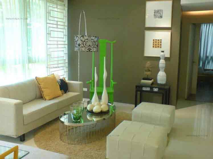 The Symphony Towers - Living Room