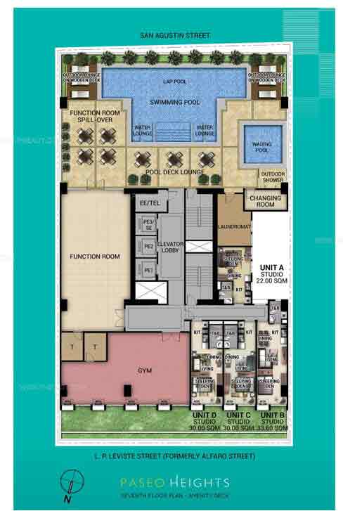 Paseo Heights - 7th floor plan