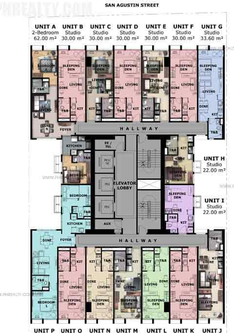 Paseo Heights - Floor Plan