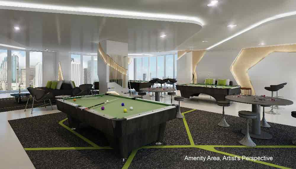 Green Residences - Game Room