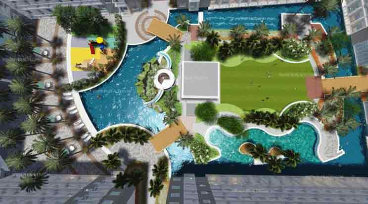Shore Residences - Amenity Top View