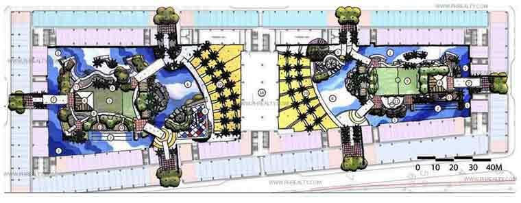 Shore Residences - Amenity Landscaped Plan