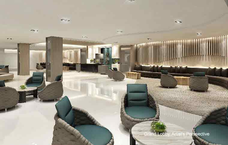 Shore Residences - Grand Lobby