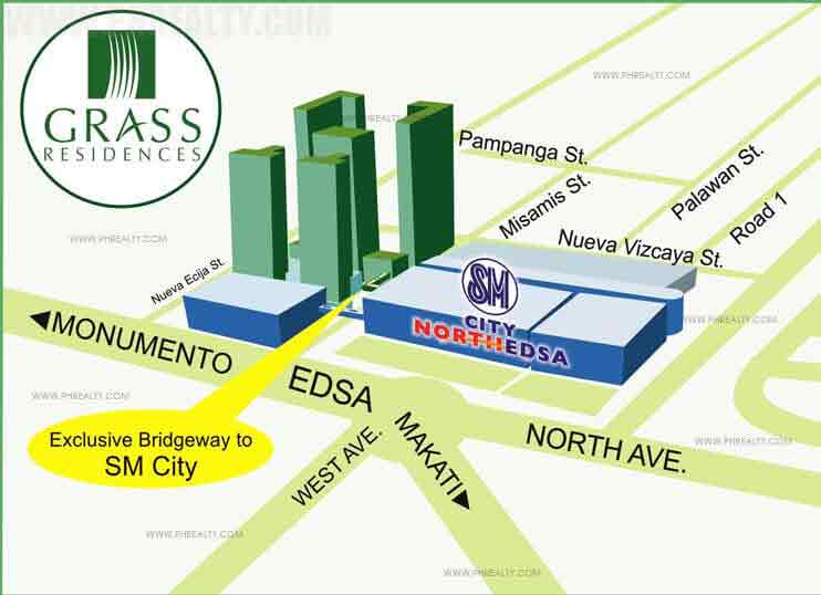 Grass Residences - Location & Vicinity