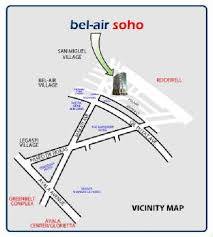 Bel Air Soho - Location Map