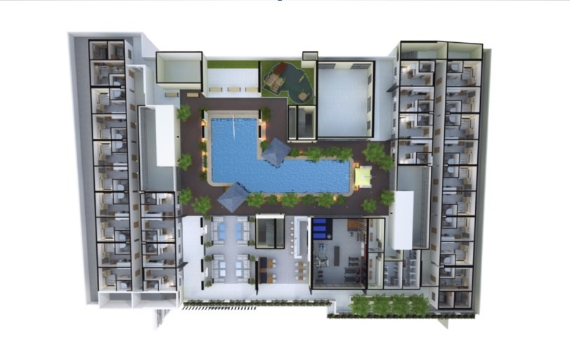 Torre De Florencia - 5th Floor Plan