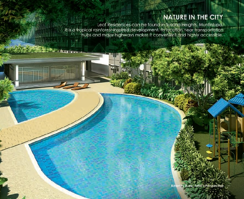 Leaf Residences - Swimming Pool