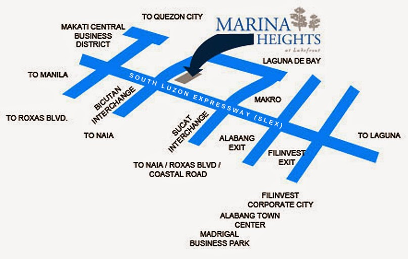 Marina Heights - Location & Vicinity