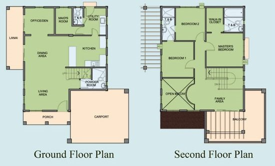 Marina Heights - Floor Plan