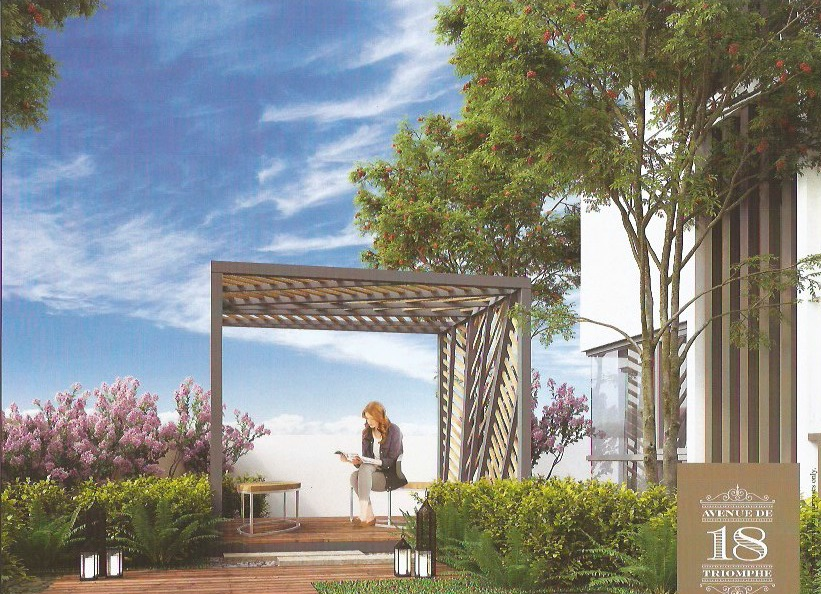 18 Avenue De Triomphe - Landscaped Garden