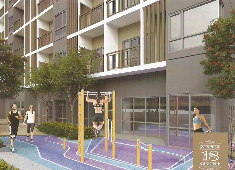 18 Avenue De Triomphe - Outdoor Fitness Area