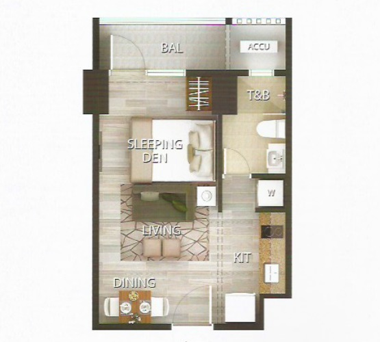 18 Avenue De Triomphe - Studio Unit