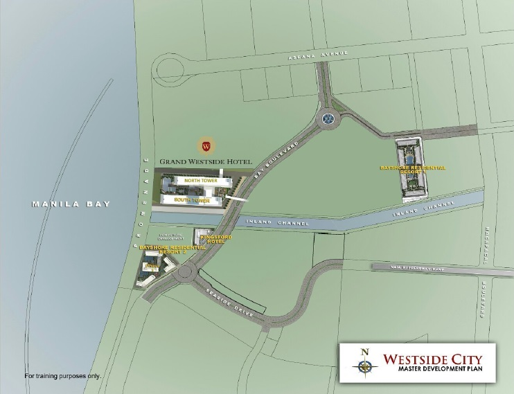 Grand Westside Hotel - Location Map