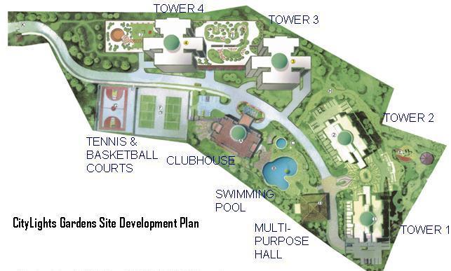 Citylight Gardens - Site Development Plan