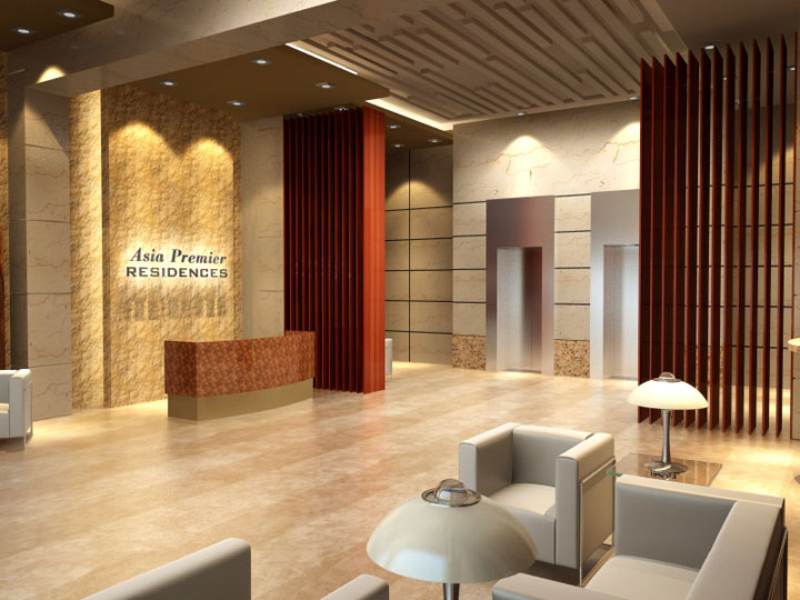 Asia Premier Residences - Reception Lobby