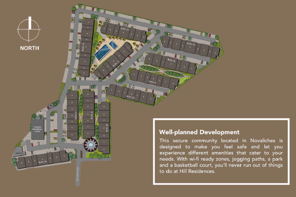 Hill Residences - Site Development Plan