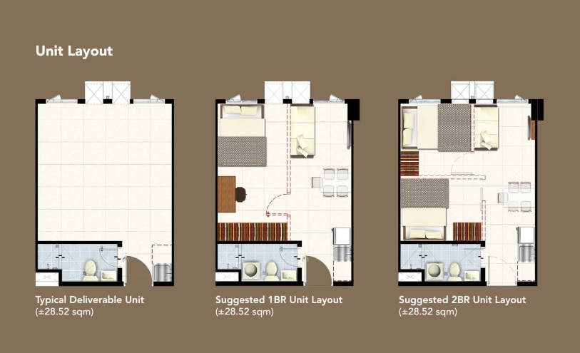 Hill Residences - Unit Layouts