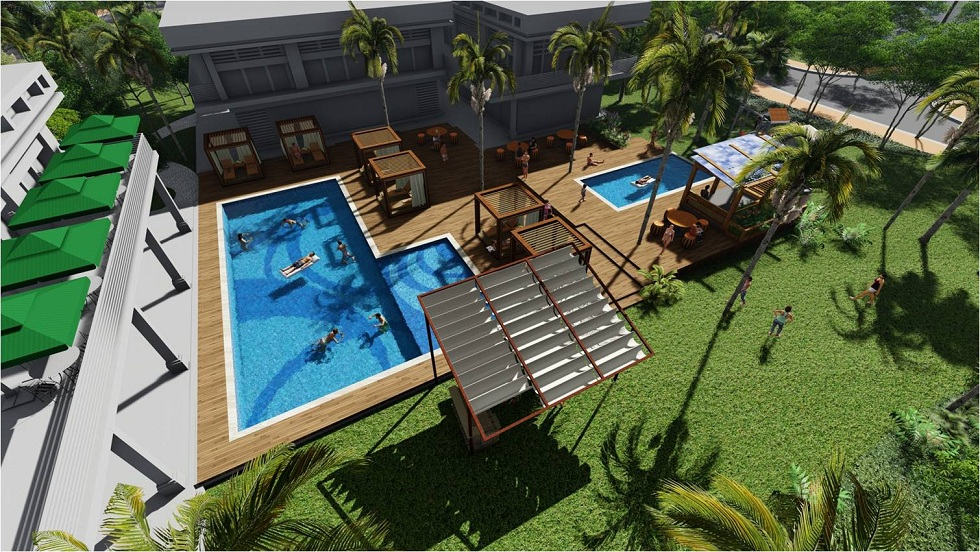 Sabella Village - Clubhouse and Pool