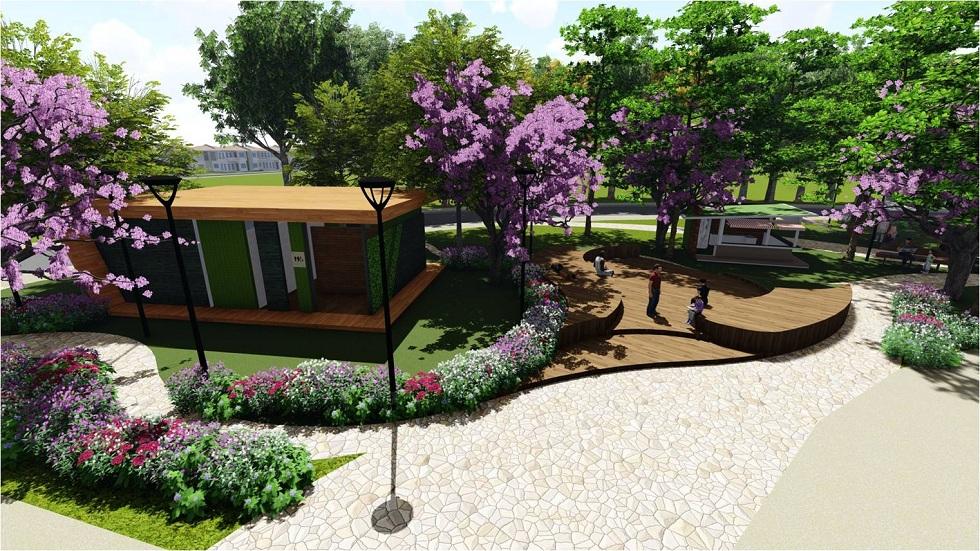 Sabella Village - Proposed Central Park Structure