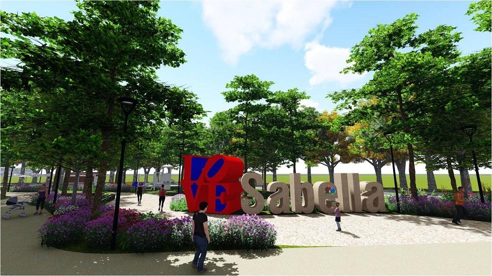 Sabella Village - Proposed Central Park Signage
