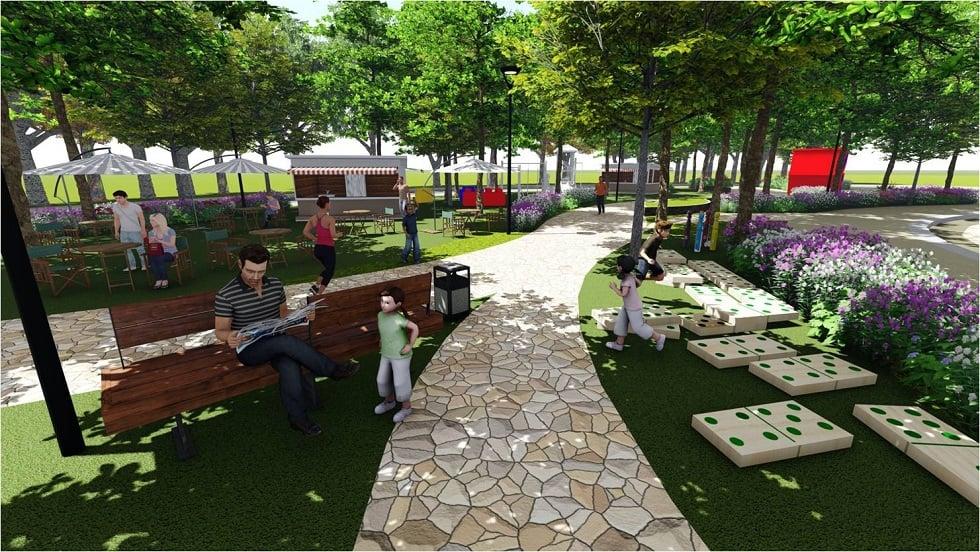 Sabella Village - Proposed Central Park