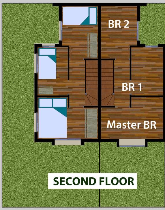 Sabella Village - Aliyah 2nd Floor Plan