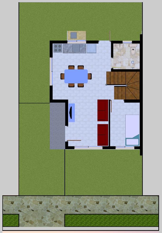 Sabella Village - Callista Ground Floor Plan