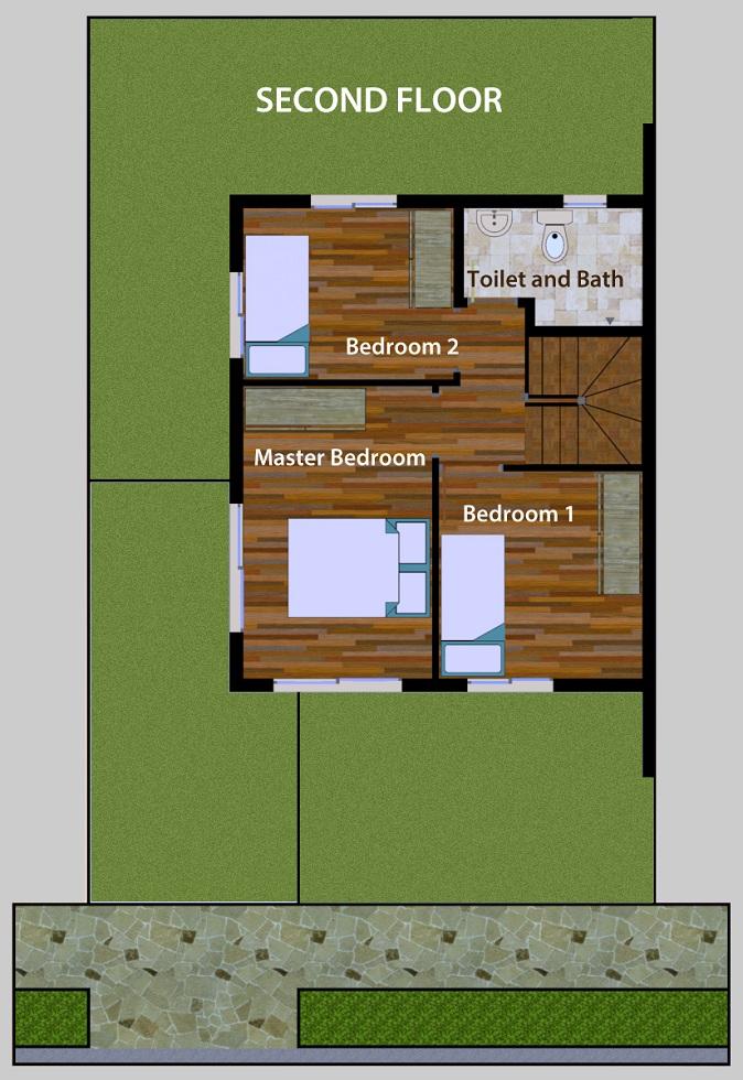 Sabella Village - Callista 2nd Floor Plan