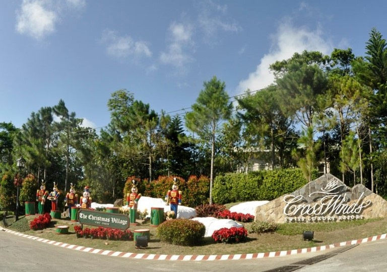 Crosswinds Tagaytay - Entrance Gate