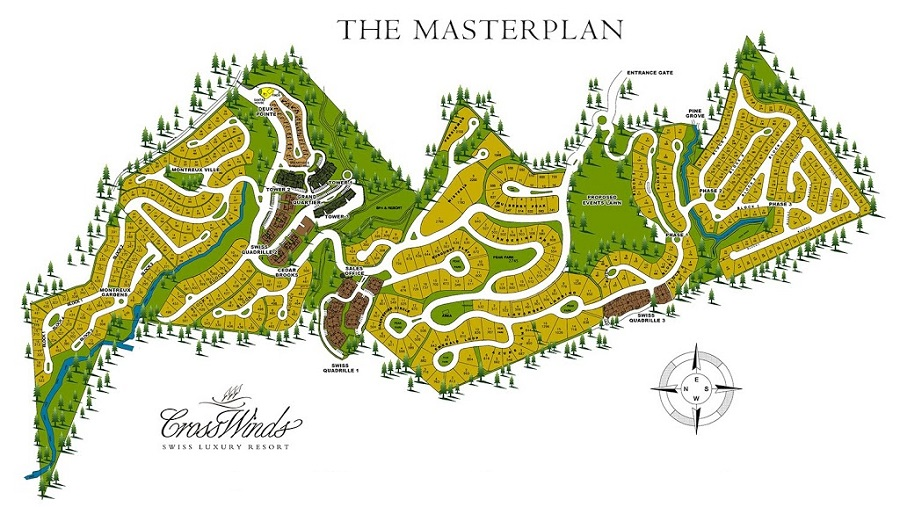Crosswinds Tagaytay - Master Plan