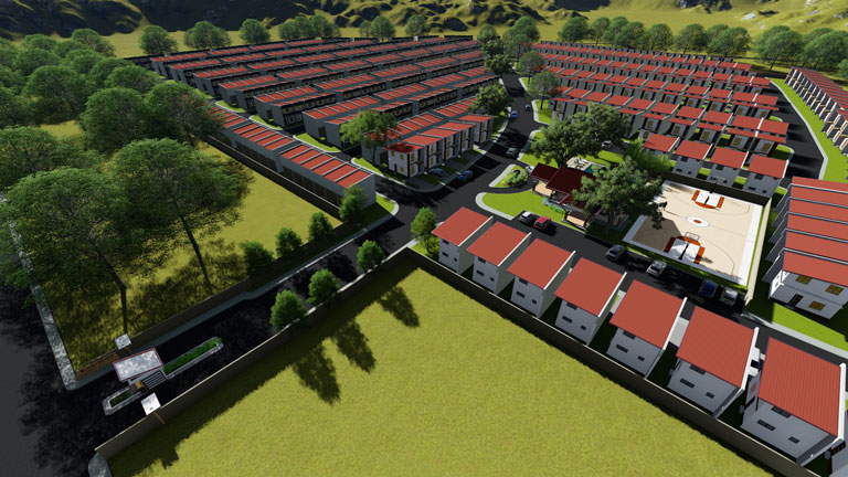 RCD Royale Homes Bulacan  - Aerial Perspective