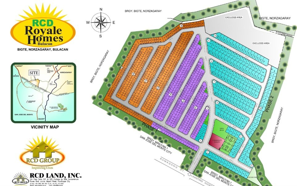 RCD Royale Homes Bulacan  - Site Development Plan