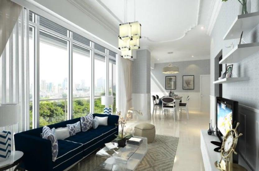 Bayshore 2 - Living Area