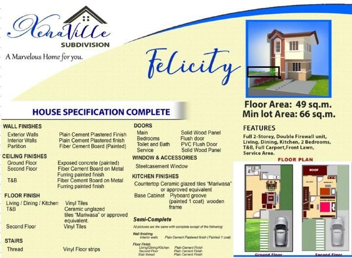Xenaville Subdivision - Felicity House Model