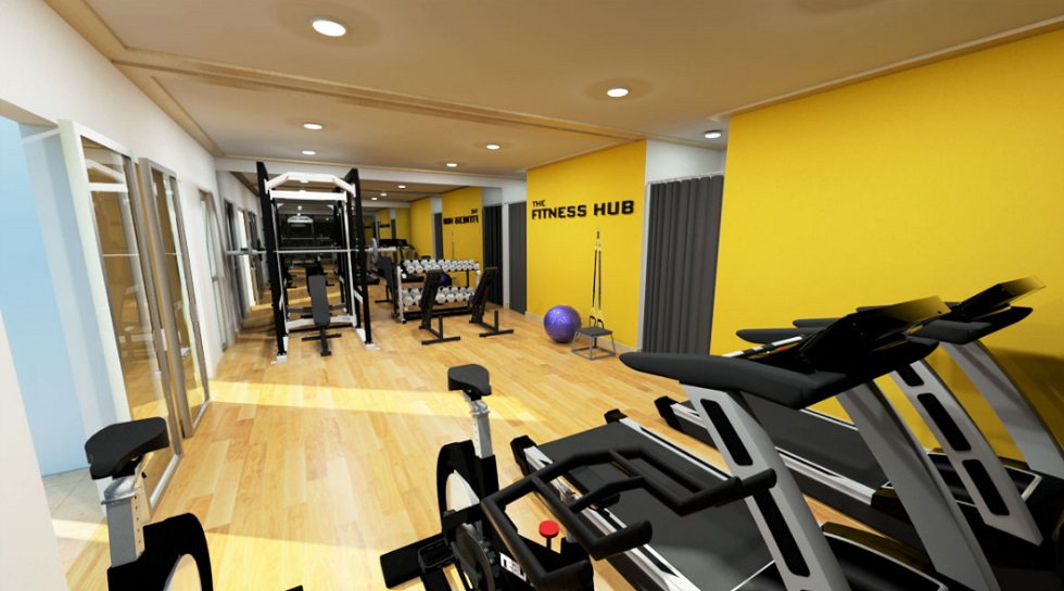 The Alpina Heights - Fitness Gym