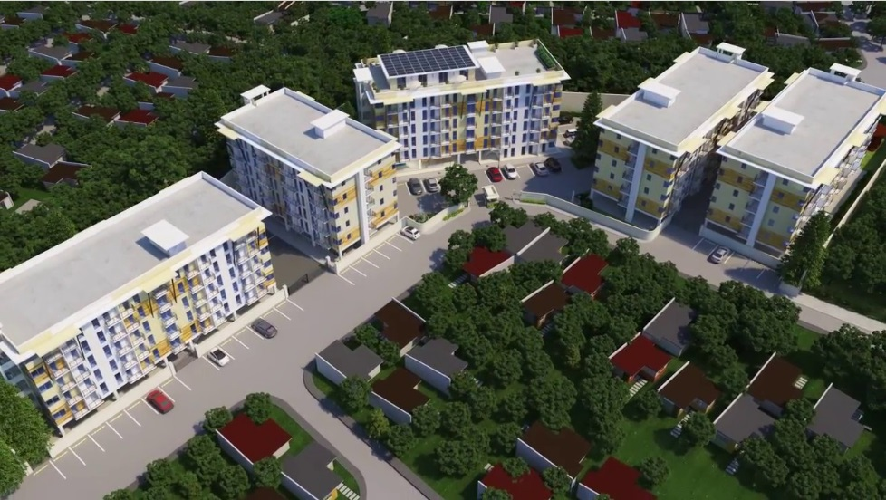 The Alpina Heights - Aerial Perspective
