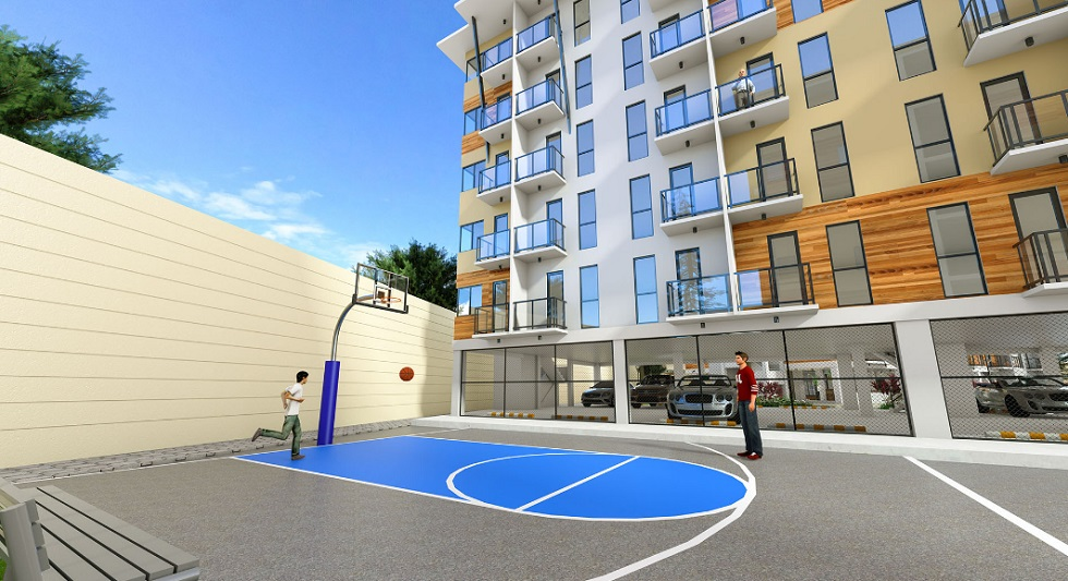 The Alpina Heights - Basketball Court