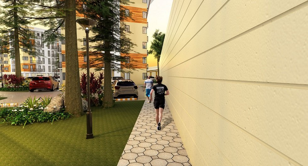 The Alpina Heights - Jogging Path