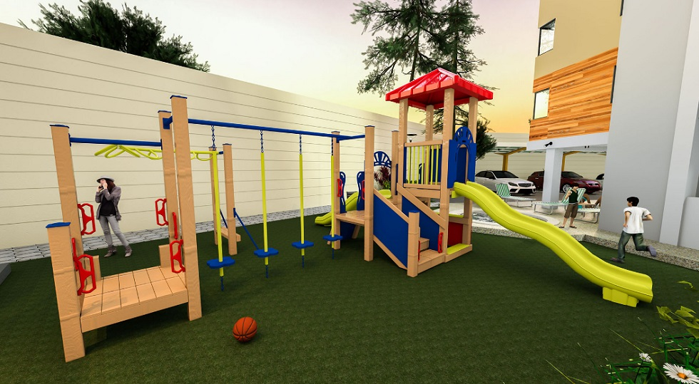 The Alpina Heights - Kids Play Area