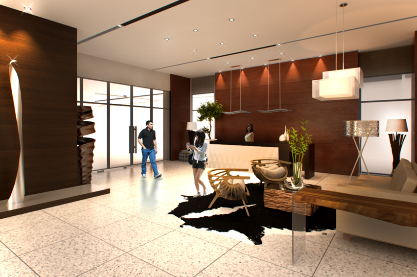 North Star Condominium - Reception Lobby