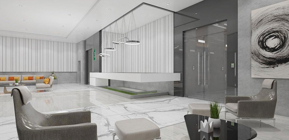 3 Torre Lorenzo - Reception Lobby