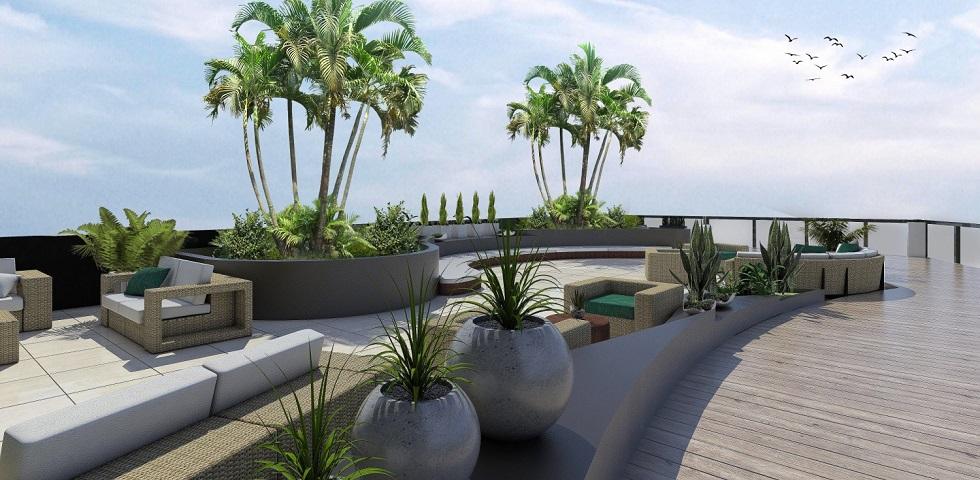 3 Torre Lorenzo - Garden Terrace