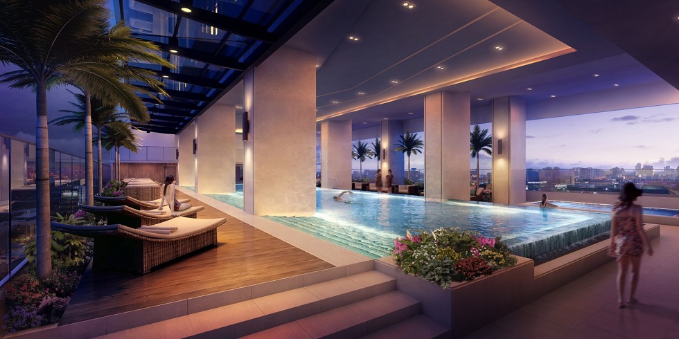 3 Torre Lorenzo - Lap Pool