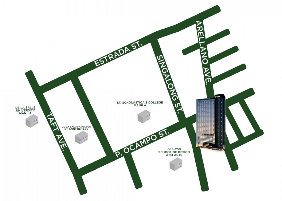 3 Torre Lorenzo - Location Map