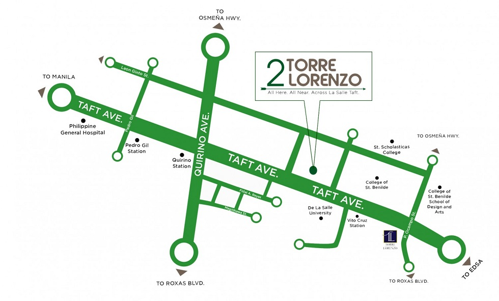 2 Torre Lorenzo - Location & Vicinity