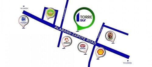 Torre Sur - Location Map