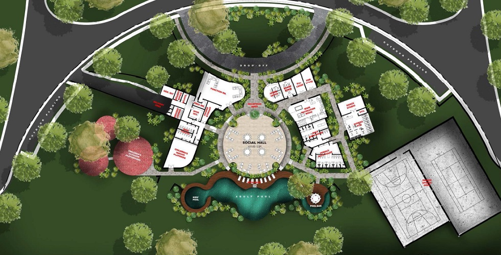 Trava - Clubhouse & Amenities Floor Plan