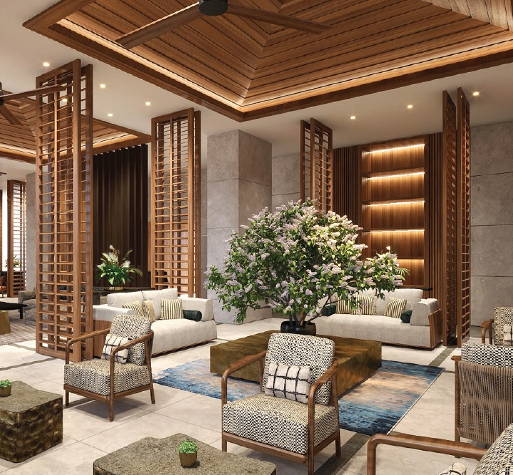 Shang Residences - Lounge Area