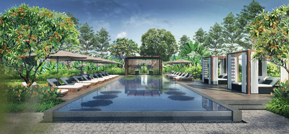 Shang Residences - Pool Area