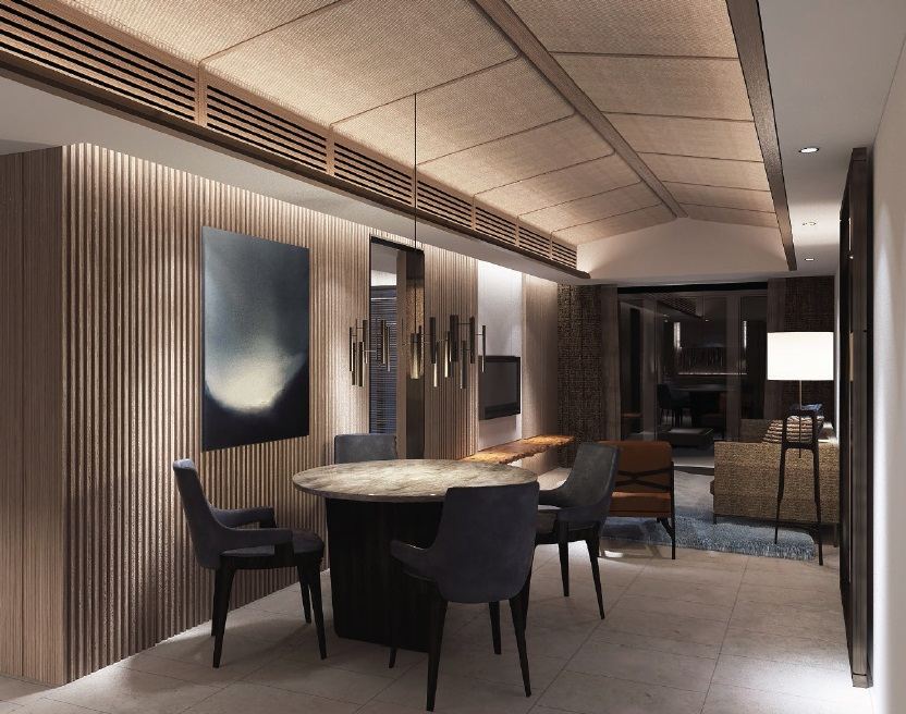 Shang Residences - 1 BR - Dining Area